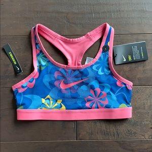 Reversible Nike Sports Bra. Girls size L. Fits W S